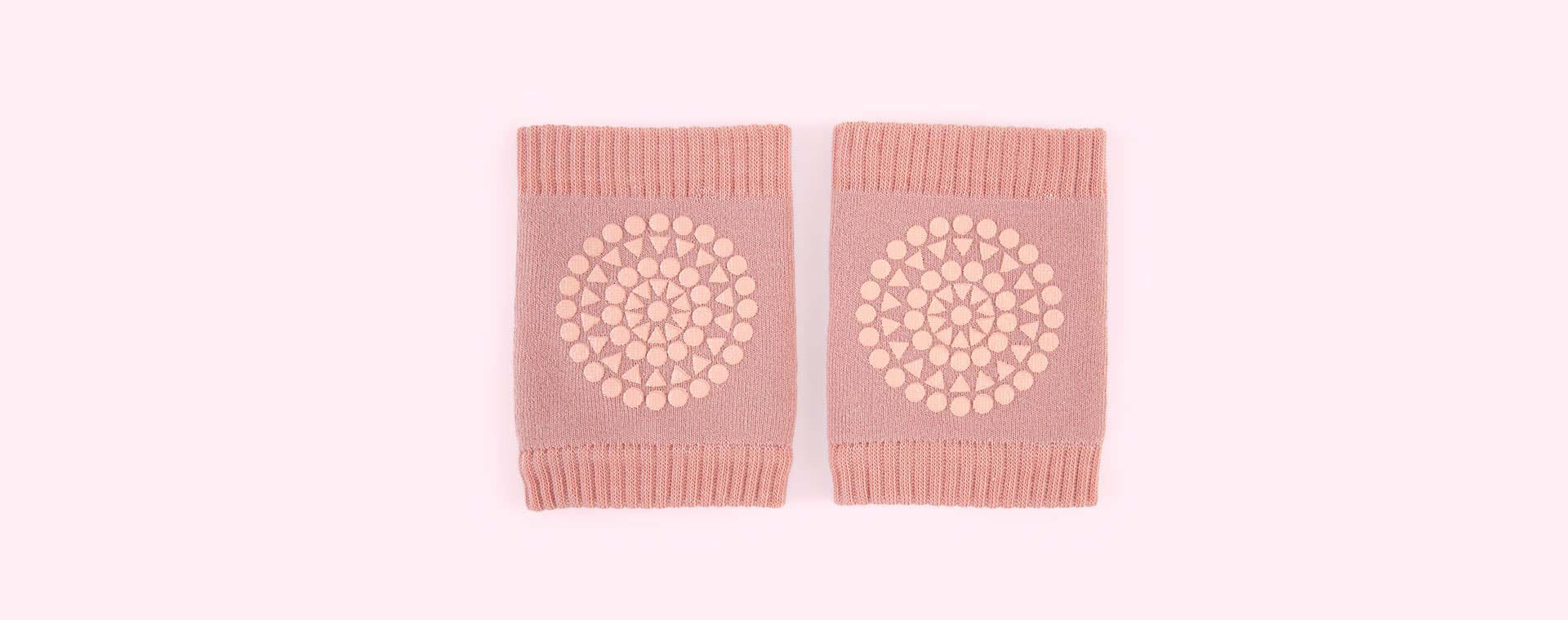 Dusty Pink Go Baby Go Crawling Knee Pads