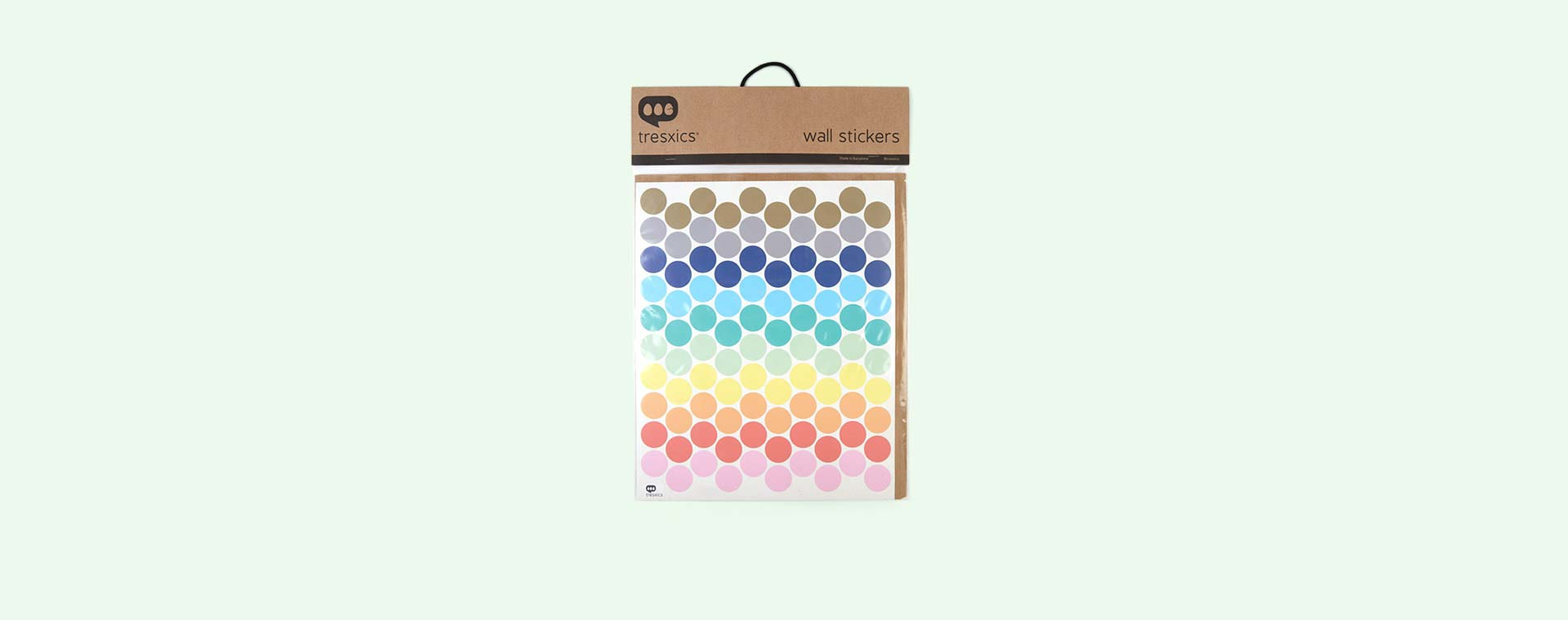 Multi Tresxics Bright Dots Wall Stickers