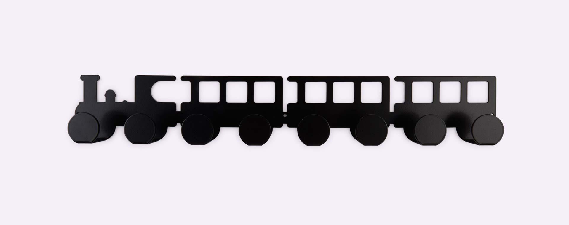 Black Tresxics Train Wall Hanger