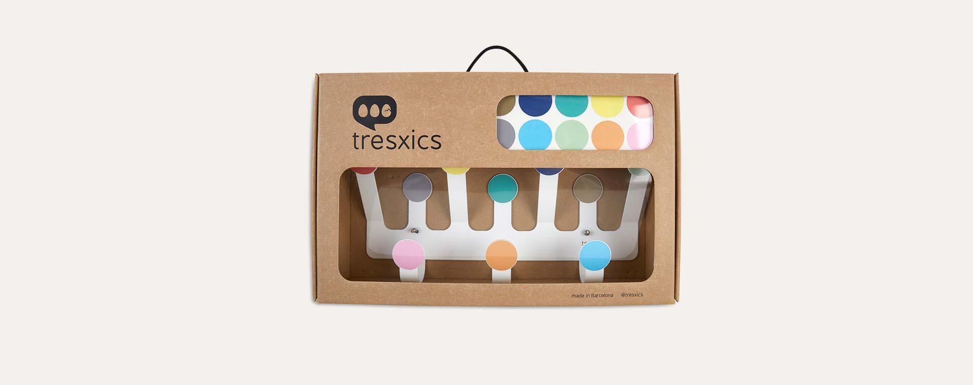 Multi Tresxics Dots Hooks & Wall Sticker Set