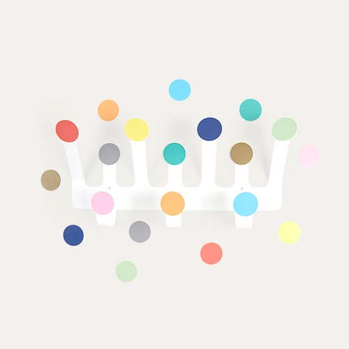 Multi Tresxics Dots Hooks & Wall Sticker Set