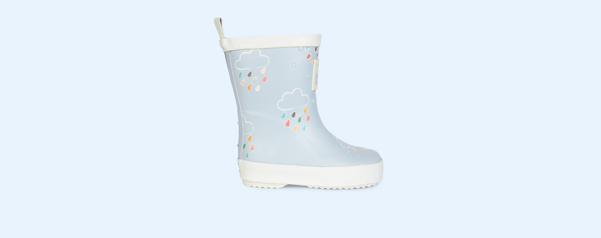 Baby Blue Grass & Air Kids Colour-Revealing Wellies