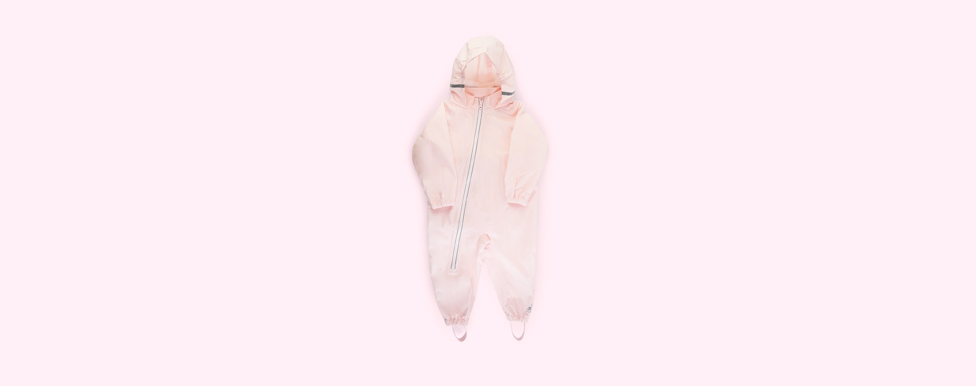 Baby Pink Grass & Air Stomper Suit
