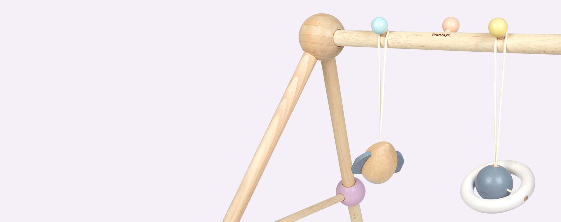 Pastels Plan Toys Play Gym