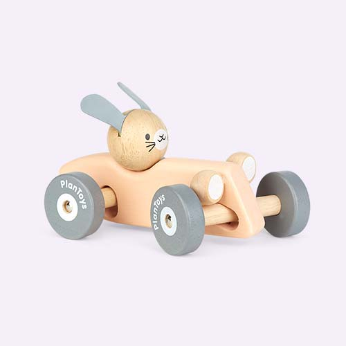 Pastel Plan Toys Animal Racer