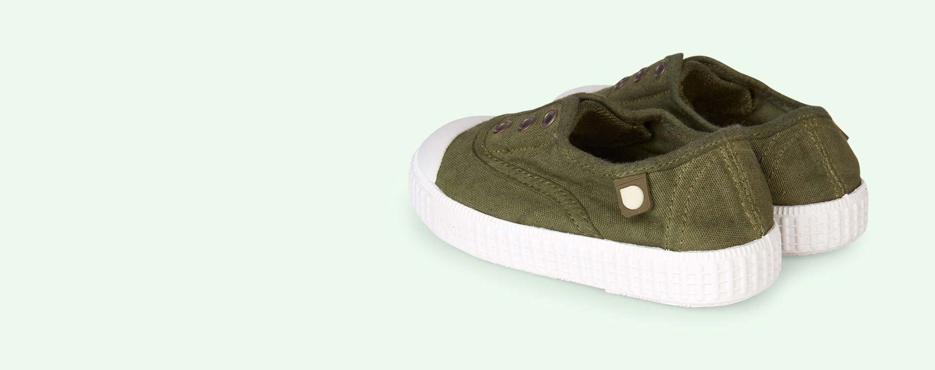 Khaki igor Berri Tennis Shoe