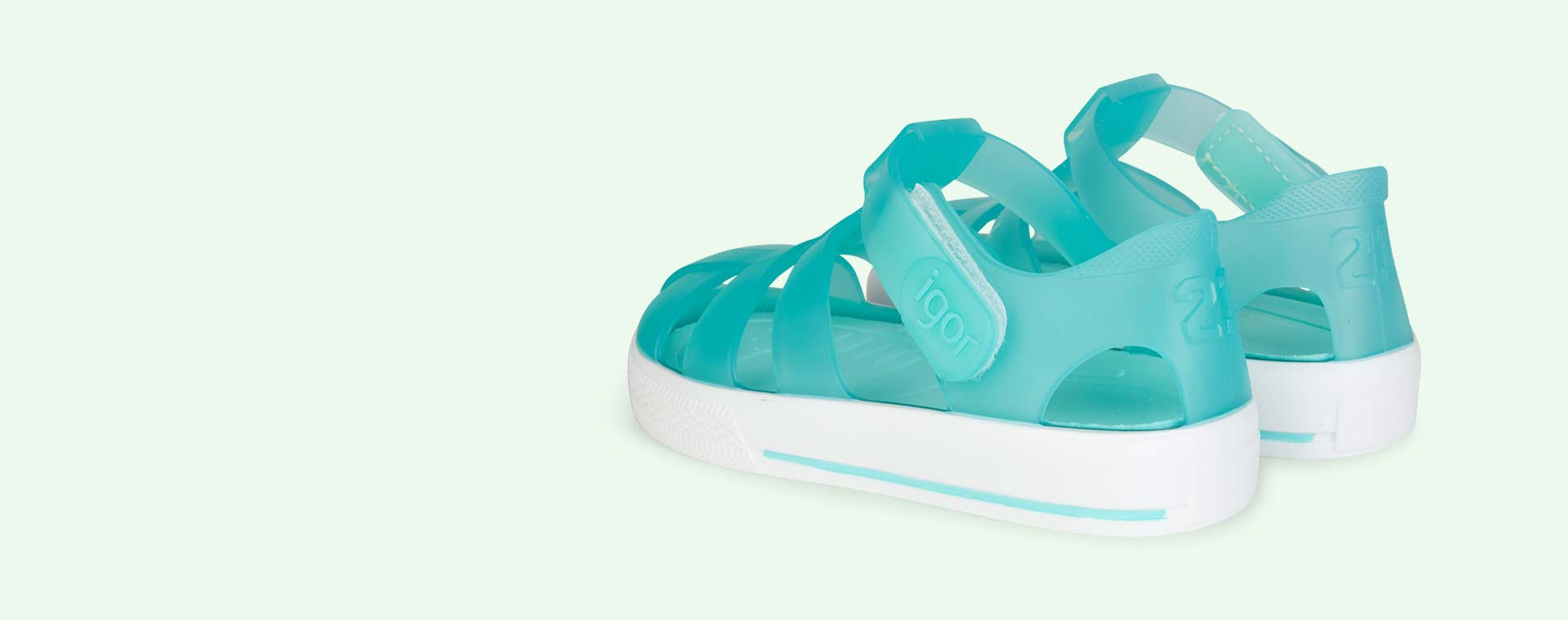 Aguamarina igor Star Velcro Jelly shoes