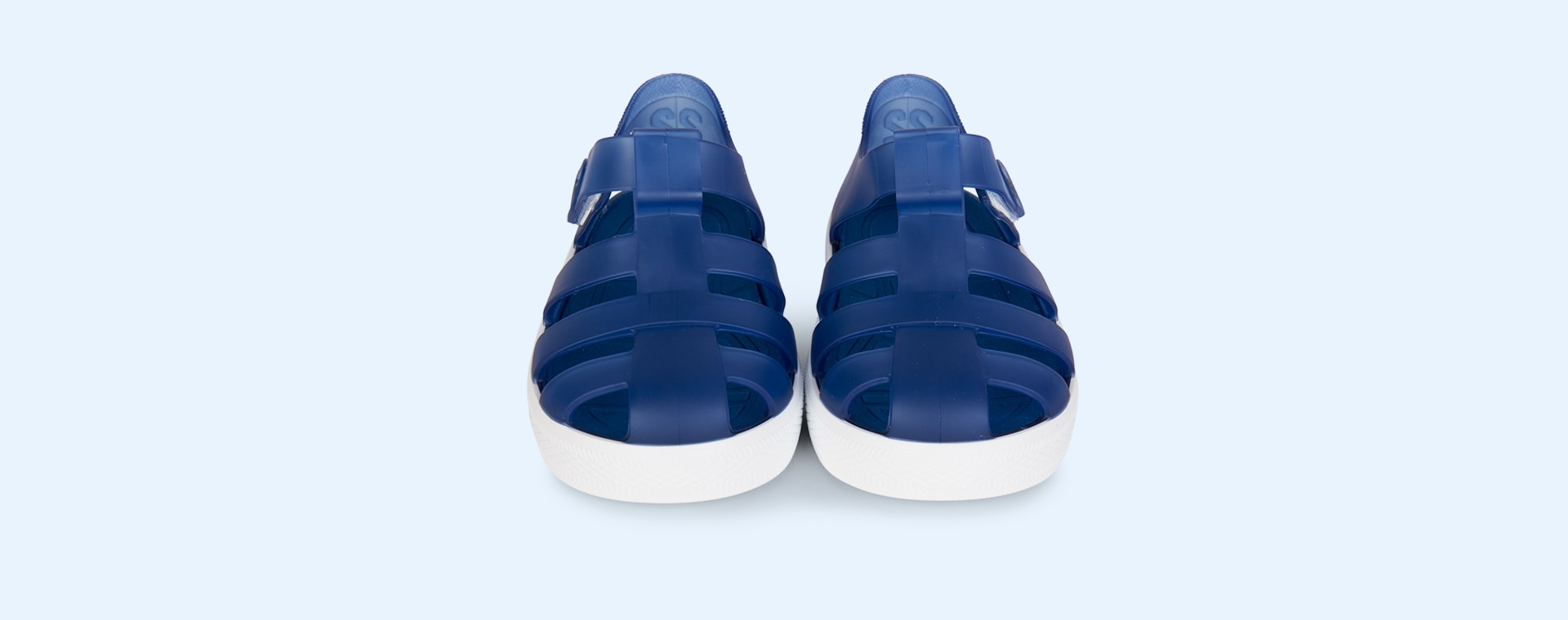 Navy igor Star Velcro Jelly shoes