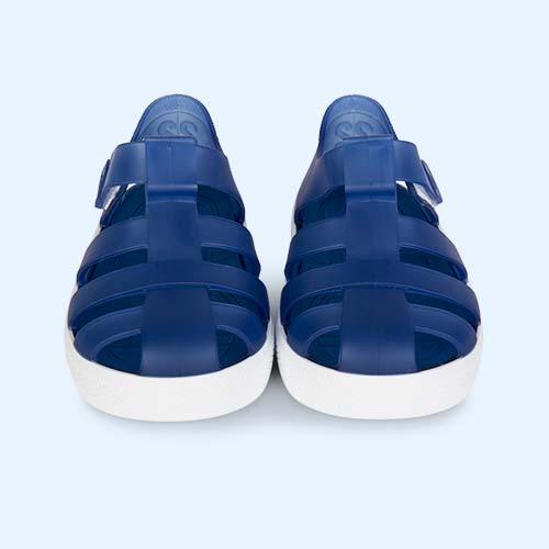 Navy igor Star Velcro Jelly shoes