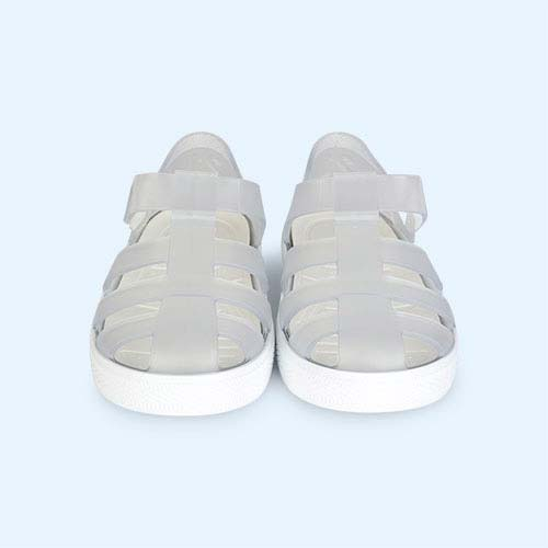 White igor Star Velcro Jelly shoes