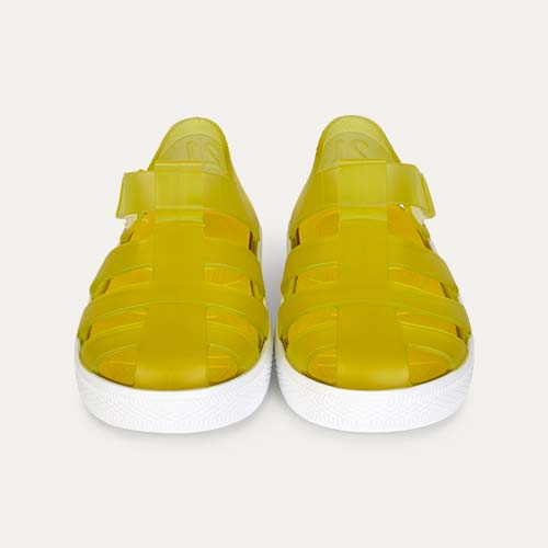 Amarillo igor Star Velcro Jelly shoes