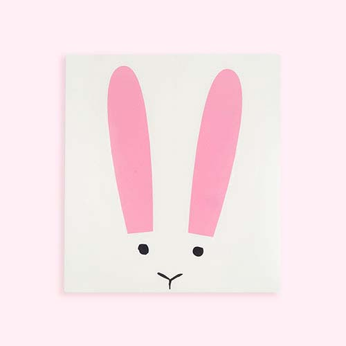 Multi Chispum Rabbit Wall Sticker