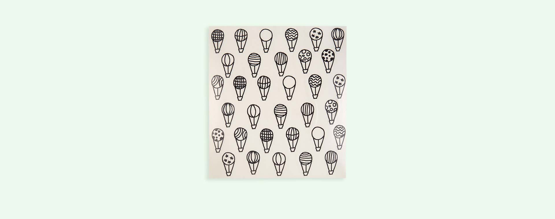 Black Chispum Balloons Wall Sticker