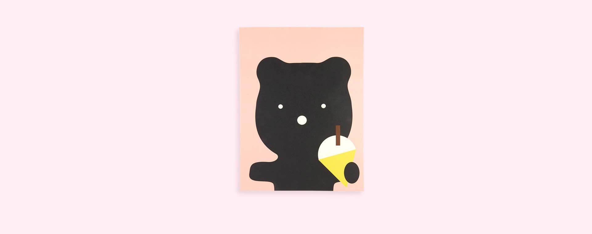 Multi Rachel Powell Ice Cream Bear Print