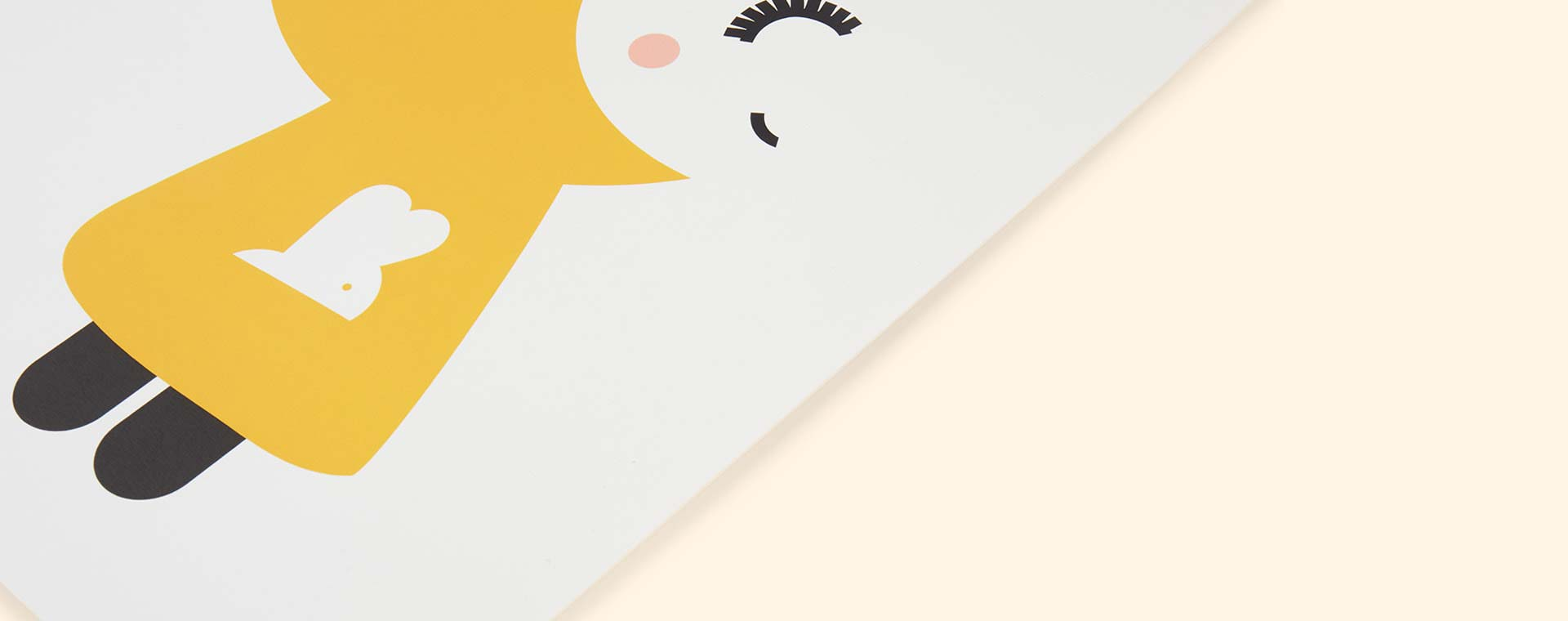 Multi Rachel Powell Yoko & Bunny Print