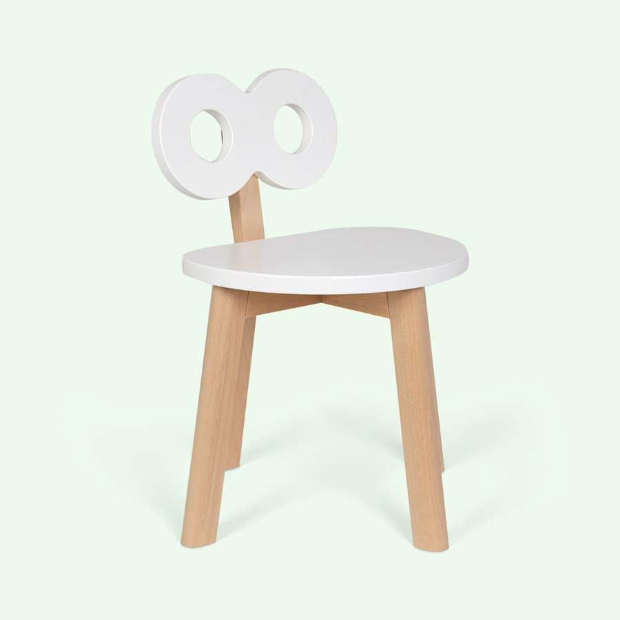 White Ooh Noo Double-O Chair