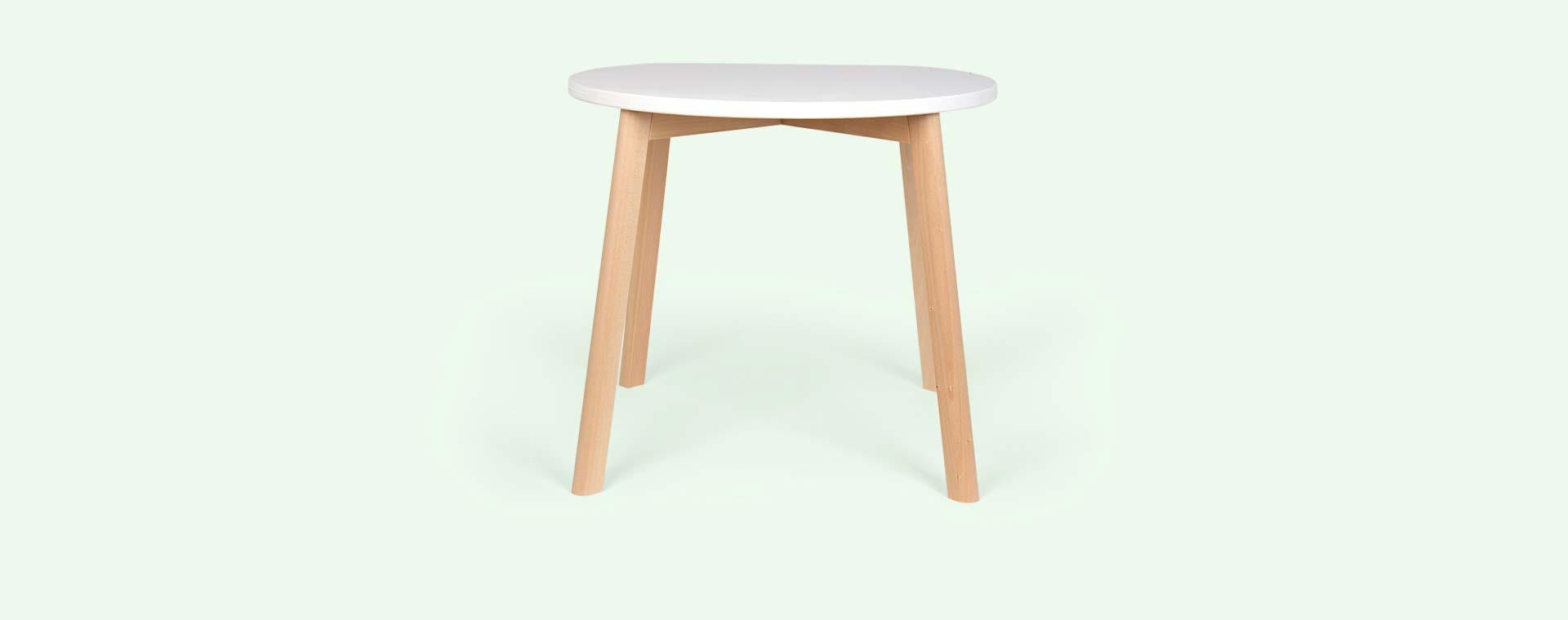White Ooh Noo Double-O Table