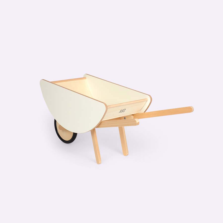 White Ooh Noo Wheelbarrow