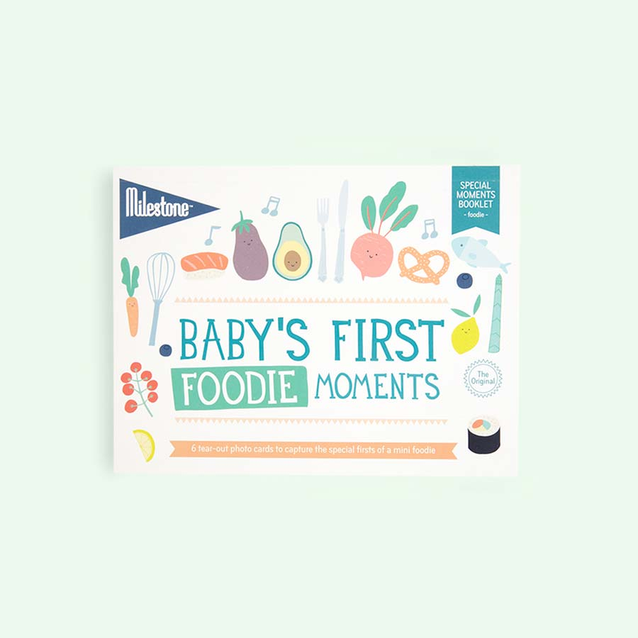 Foodie Milestone First Special Moments