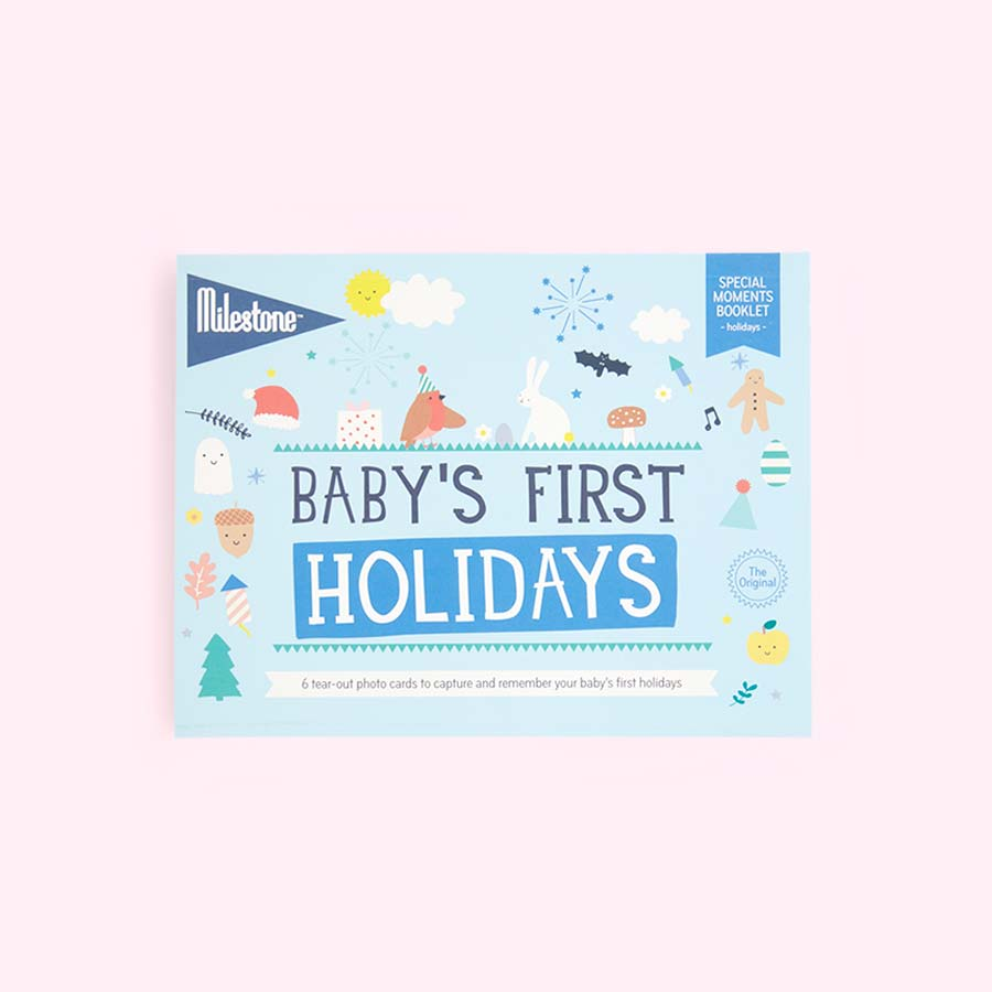 Holidays Milestone First Special Moments