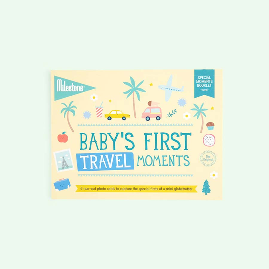 Travel Milestone First Special Moments