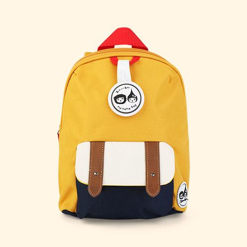 Mustard Babymel Mini Backpack with Rein