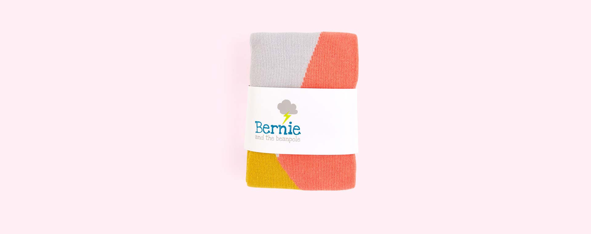 Coral & Mustard Bernie and The Beanpole Coral Pop Leggings