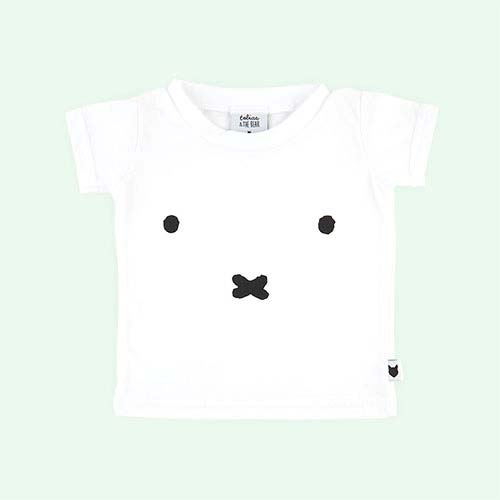 White tobias & the bear Miffy Face Tee