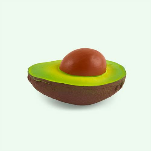 Avocado Oli & Carol Arnold the Avocado Teether & Bath Toy