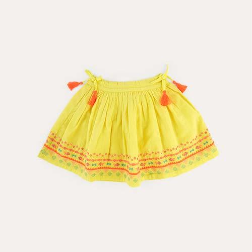 Yellow Bonheur Du Jour Noemie Skirt