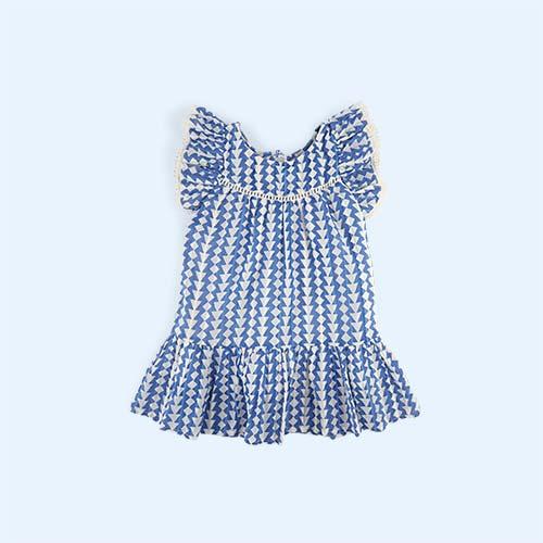 Blue Bonheur Du Jour Talhia Dress