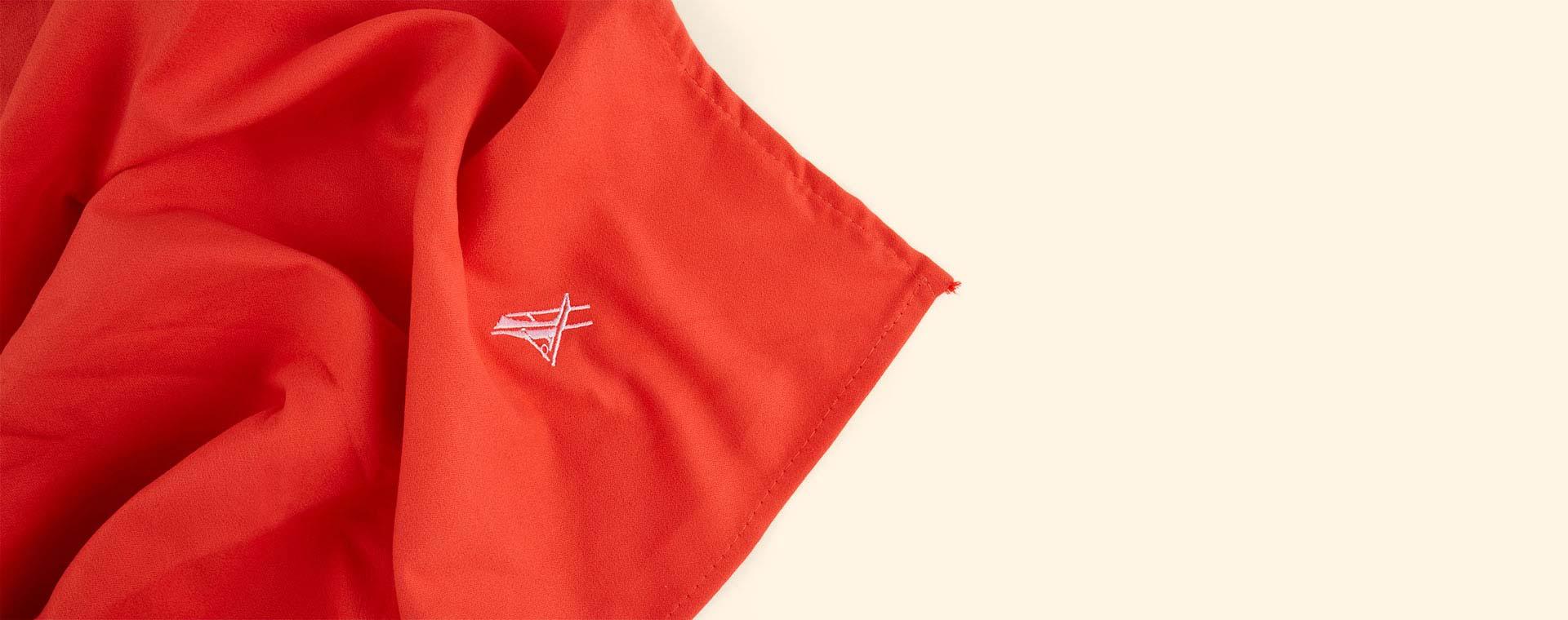 Red Dock & Bay Towel