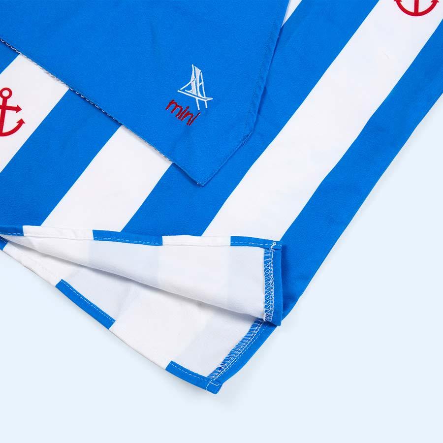 Blue Dock & Bay Poncho Towel