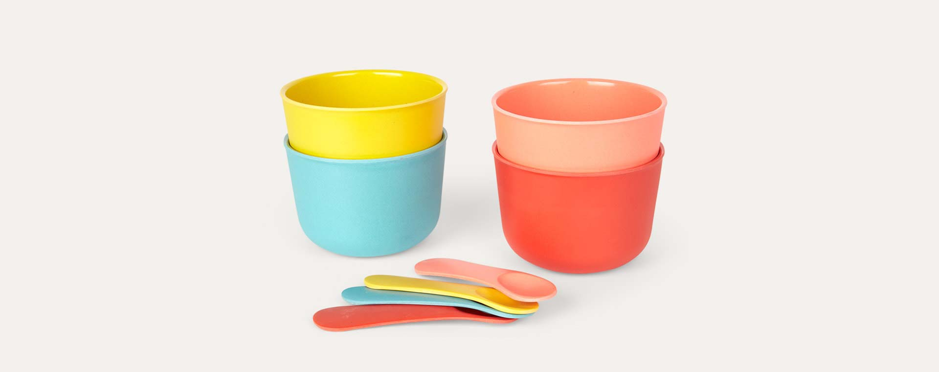 Multi EKOBO Ice Cream Bowls