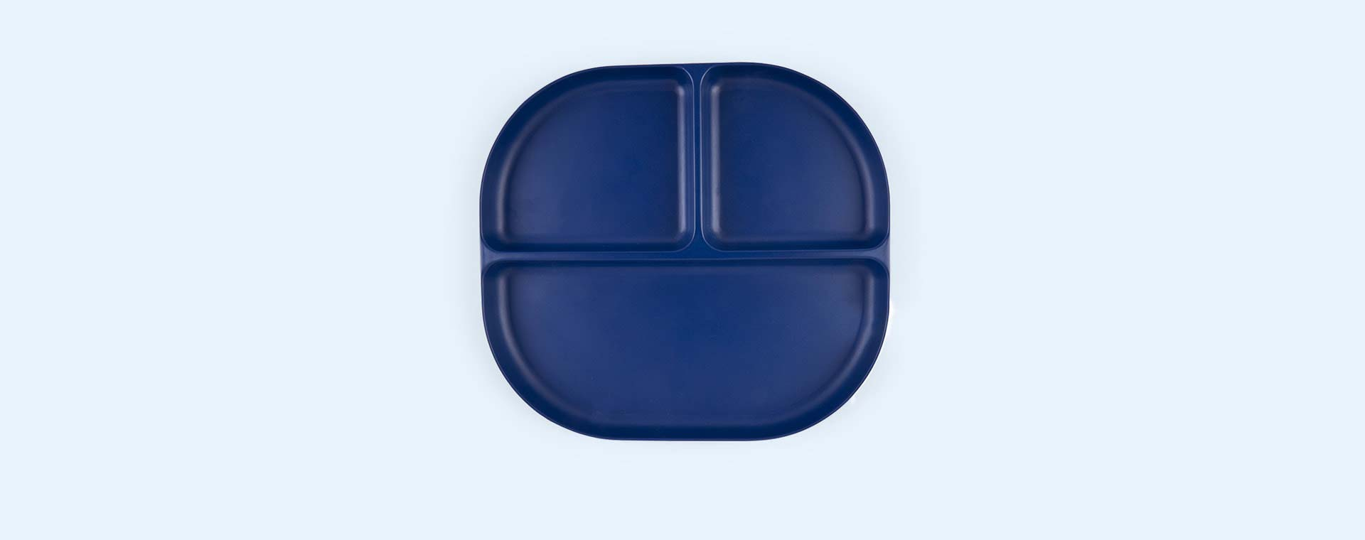 Royal Blue EKOBO Divided Plate