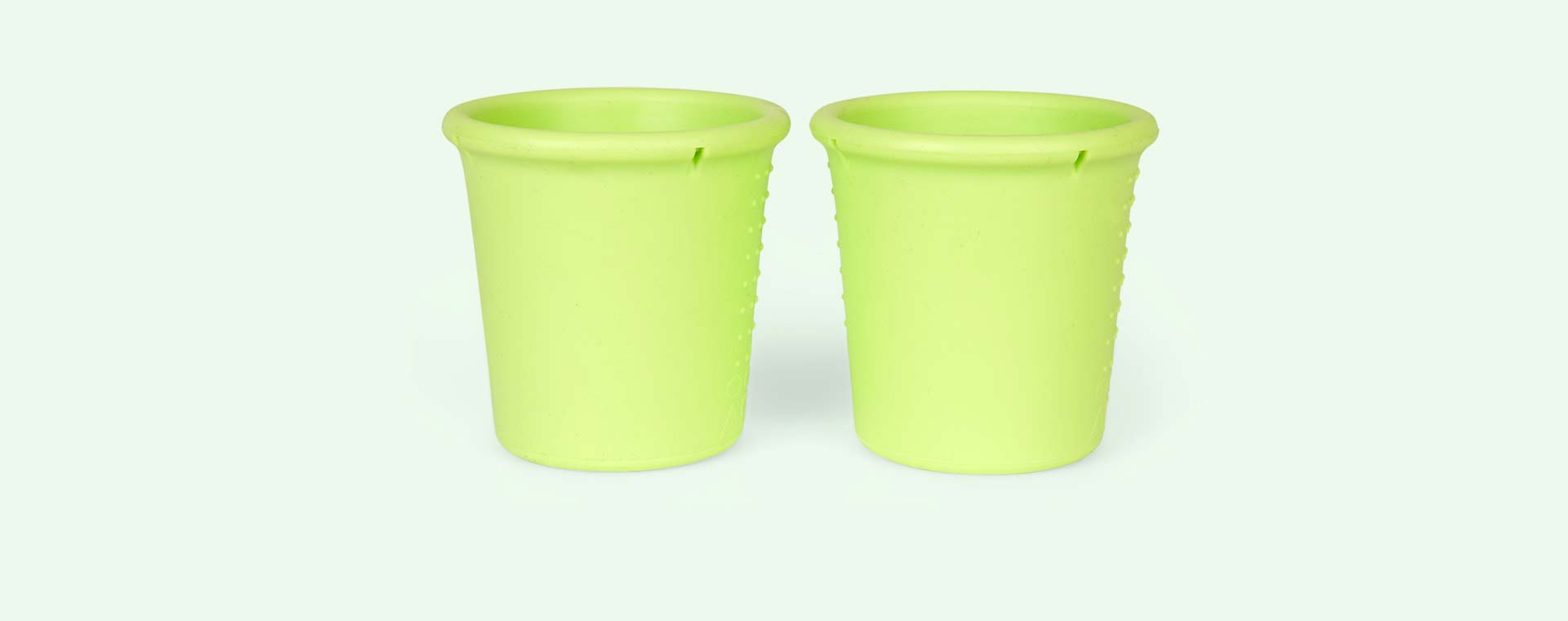 Lime Go Sili Silicone Cups - 2 Pack