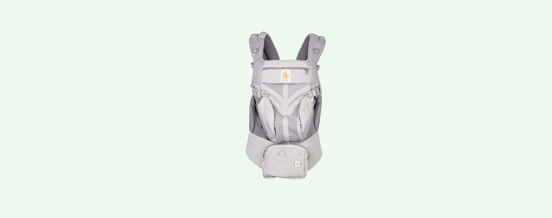 Pearl Grey Ergobaby Omni 360 Cool Air Mesh