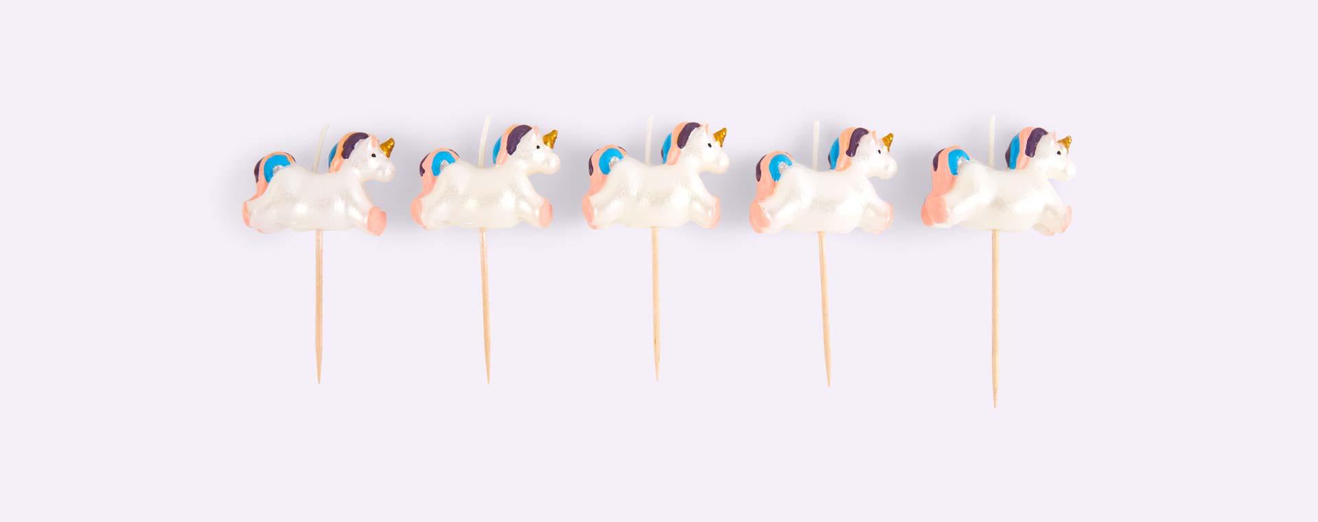 Unicorn Smiling Faces Unicorn Candles