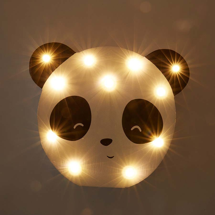 Panda Smiling Faces Panda Light