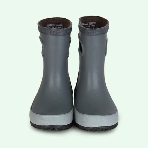 Grey Bogs Wellies