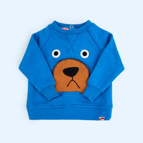 Bright Blue Tootsa Bear Sweatshirt