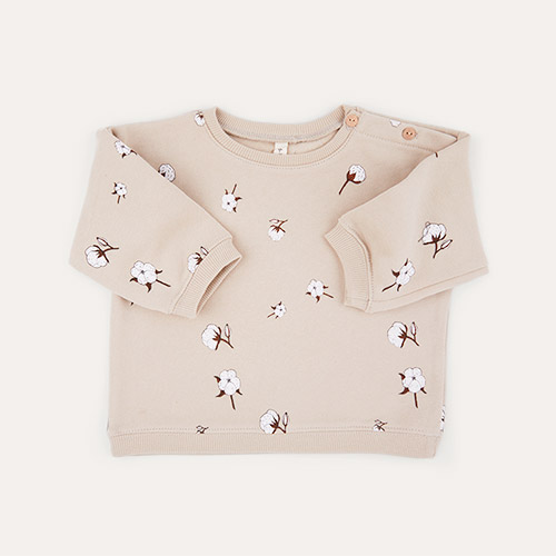 Cotton Field Organic Zoo Sweatshirt