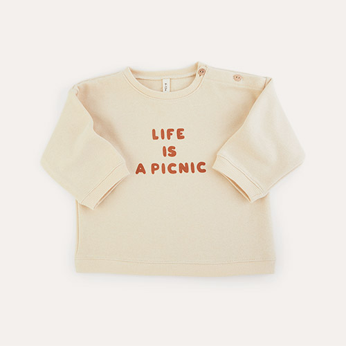 Life Is a Picnic Organic Zoo Sweatshirt