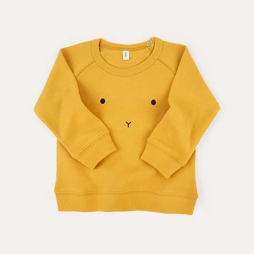 Mustard Organic Zoo Sweatshirt