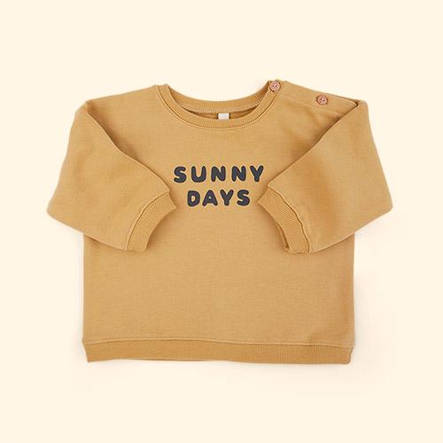 Sunny Days Organic Zoo Sweatshirt