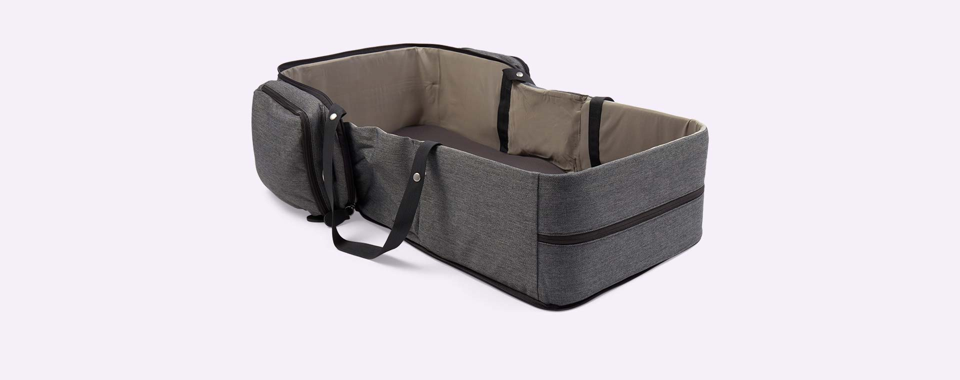 Smokey Grey Babymoov Travelnest Portable Cot