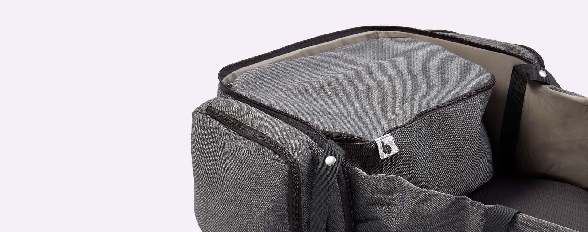 Smokey Grey Babymoov Travelnest Portable Cot