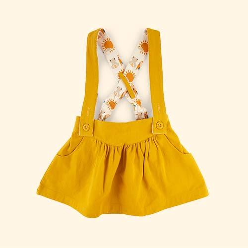 Gold Little Green Radicals Skirt