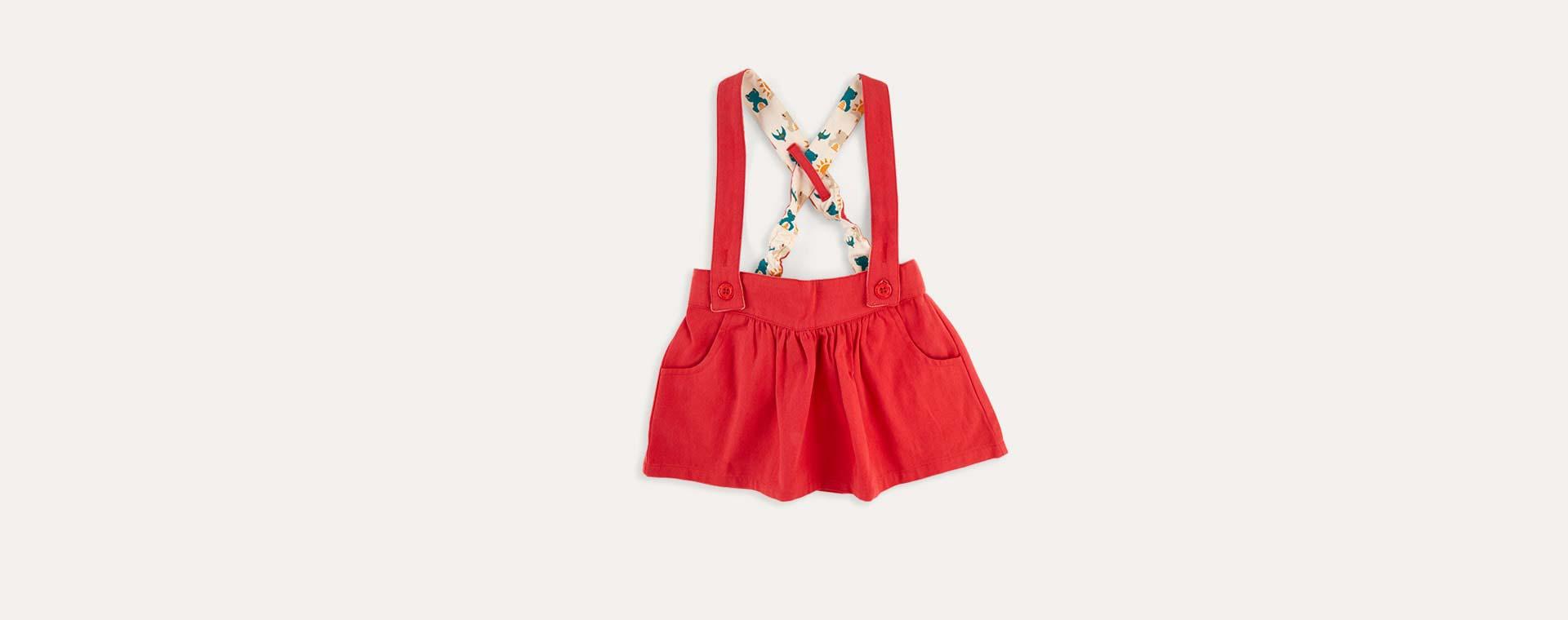 Red Little Green Radicals Skirt