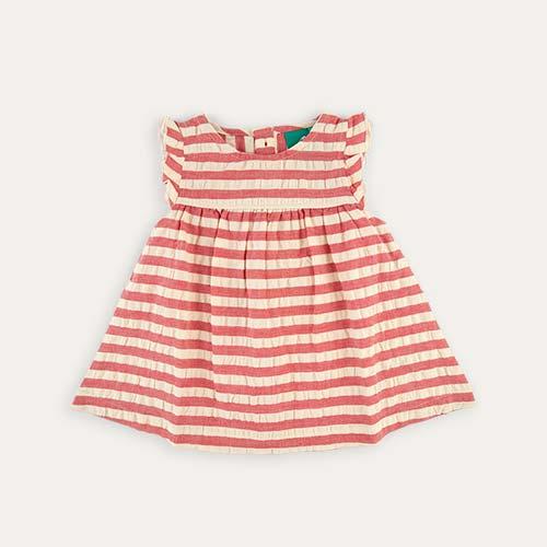 Red Stripe Little Green Radicals Dress